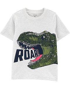 Camiseta manga curta -Roar T-Rex  carters