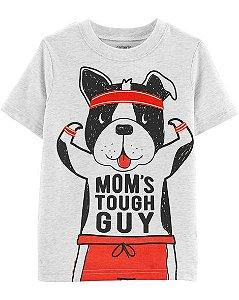 Camiseta manga curta - Dog Tough Guy carters