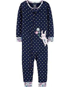 Pijama  carters manga longa com pezinho  Carters Bunny