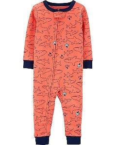 Pijama  carters manga longa com pezinho  Carters Shark