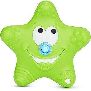 Estrela Flutuante Com Jatos Para Banho Munchkin Verde
