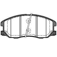 PASTILHA DE FREIO  CHEVROLET CAPTIVA 3.6 V6/ Ecotec 2.4 2WD 07/... - DIANTEIRA