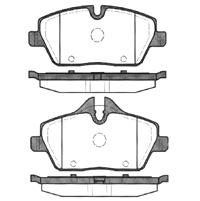 PASTILHA DE FREIO BMW MINI Mini Cooper 1.6 S/ Clubman 1.6 S / Countryman 07/...  - DIANTEIRA
