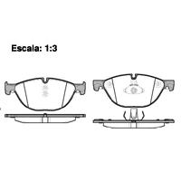 PASTILHA DE FREIO BMW SERIE 6(E 63/ E 64) 640 i Gran Coupe 10/...  - DIANTEIRA