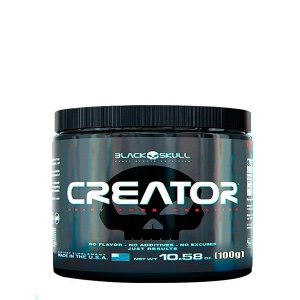 Creatina Creator 100g - Black Skull