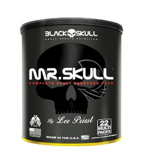 Mr Skull 22 Multi Packs - Black Skull
