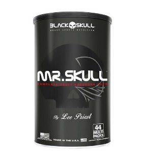 Mr Skull 44 Multi Packs - Black Skull