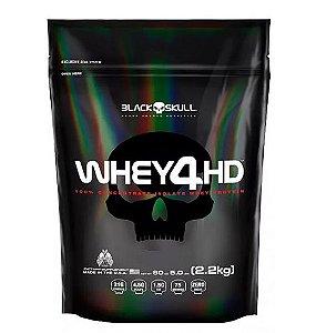 Whey 4HD 2,2Kg 5Lbs (Refil) - Black Skull