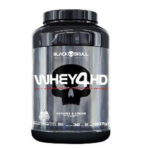Whey 4HD 907g 2Lbs - Black Skull