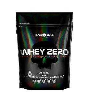 Whey Zero 837g (Refil) - Black Skull