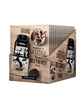 Best Whey (Display C/15 Saches de 40g) - Atlhetica