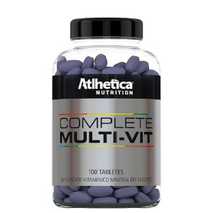 Complete Multi Vit - 100 Tabletes - Atlhetica