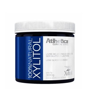100% Natural Xylitol - 300g - Atlhetica