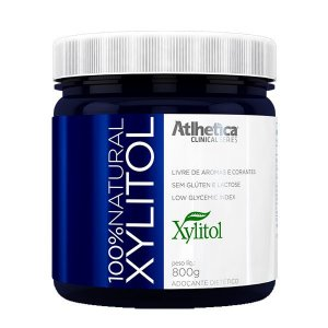 100% Natural Xylitol - 800g - Atlhetica