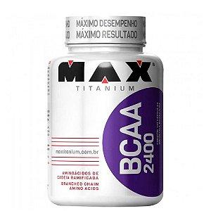 Bcaa 2400 - 100 Cápsulas - Max Titanium