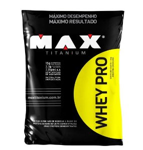 Whey Pro 1,5Kg (Refil) - Max Titanium