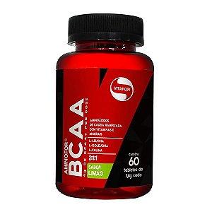 Bcaa Aminofor - 60 Tabletes - Vitafor