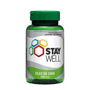 Óleo de Chia 60 Cápsulas Stay Well - Sports Nutrition