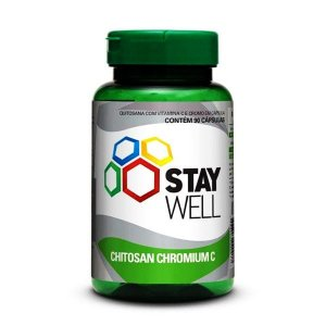 Quitosana com Cromo 90 Cápsulas Stay Well - Sports Nutrition
