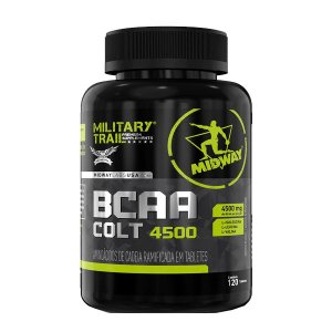 BCAA Military Trail Colt Ultra - 120 Capsulas - Midway USA