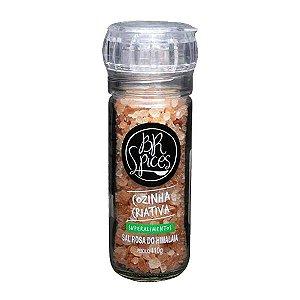 Moedor Sal Rosa do Himalaia - 100g - Br Spices