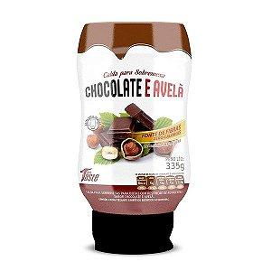 Calda para Sobremesa Chocolate e Avelã - 335g - Mrs Taste