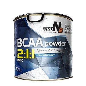 Bcaa powder 2:1:1(Pó) 300g - Pro N2