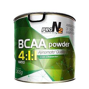 Bcaa Powder 4:1:1 (Pó)  300g - Pro N2
