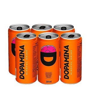 Energético Dopamina (Caixa com 6 unidades de 269ml)