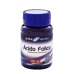Ácido Fólico 240mcg 45 Cápsulas - Global Nutrition