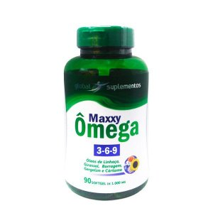Maxxy Ômega 3-6-9 90 Cápsulas - Global Suplementos
