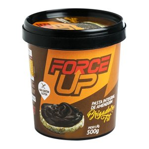 Pasta de Amendoim Integral Brigadeiro Fit 500g - Force Up