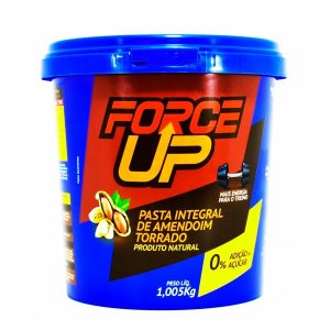 8un Pasta de Amendoim Torrado Integral Lisa 1,005kg Force Up