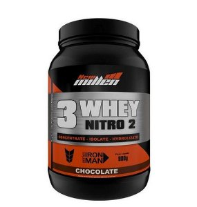 3 Whey Nitro 2 - 900g - New Millen