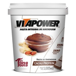 Pasta de Amendoim Integral Cacau  - 1,005kg - Vita Power