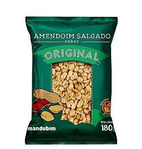 Amendoim Torrado - Original - 180g - Mandubim