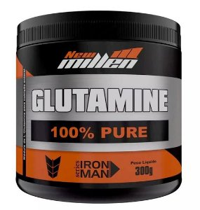 Glutamine 100% Pure - 300g - New Millen