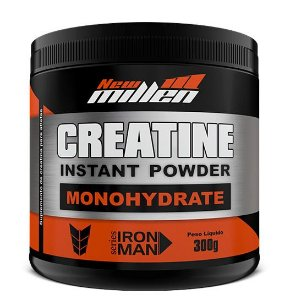 Creatine Instant Powder Monohydrate - 300g - New Millen