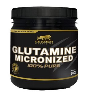 Glutamina Micronized 300g Leader Nutrition