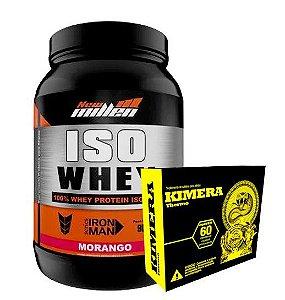 Iso Whey New Millen 900g + Kimera 60Comprimidos