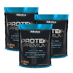 3un Whey Protein Premium 850g Atlhetica