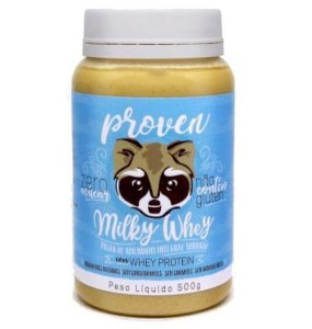 Pasta de Amendoim com Whey Protein 500g Proven