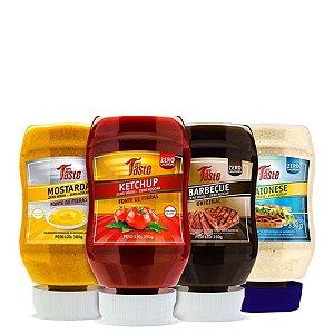4 Unidades de Molhos 350g Mrs Taste