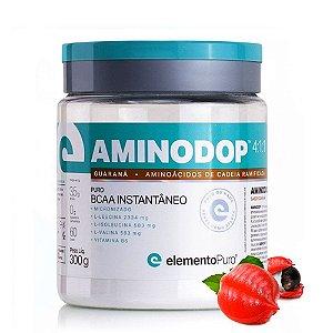 Aminodop Bcaa Instantâneo 300g Elemento Puro