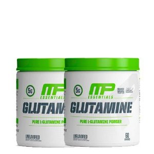 2 unidades de Glutamine Pure 300g Muscle Pharm