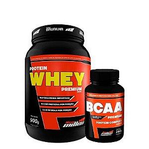 Protein Premium Whey 900g + Bcaa 240 tabletes