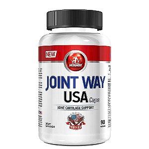 Suporte Para Articulações Joint Way USA 90caps Midway