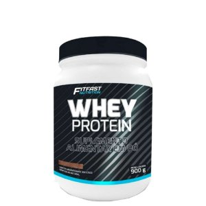 Whey Protein Concentrado e Hidrolisado 900g Fit Fast