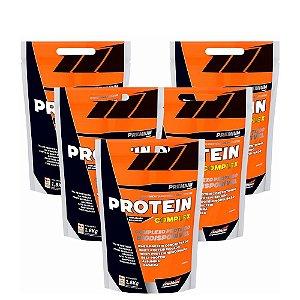 Combo 5x Protein Complex 1,8Kg New Millen