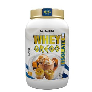 Whey Grego Isolate 900g Nutrata